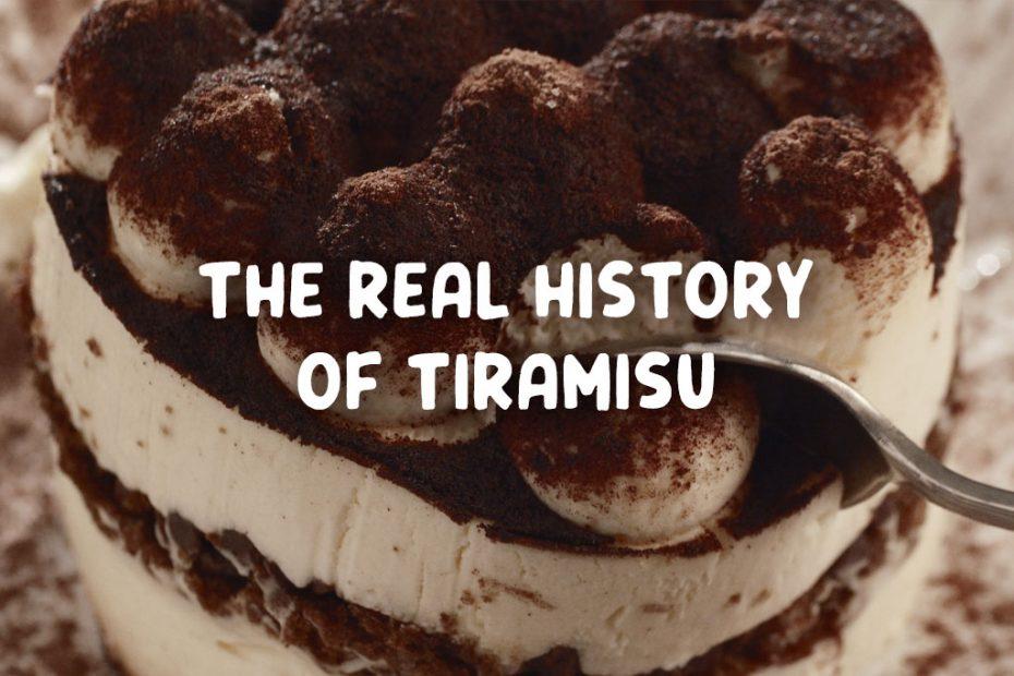 history of tiramisu