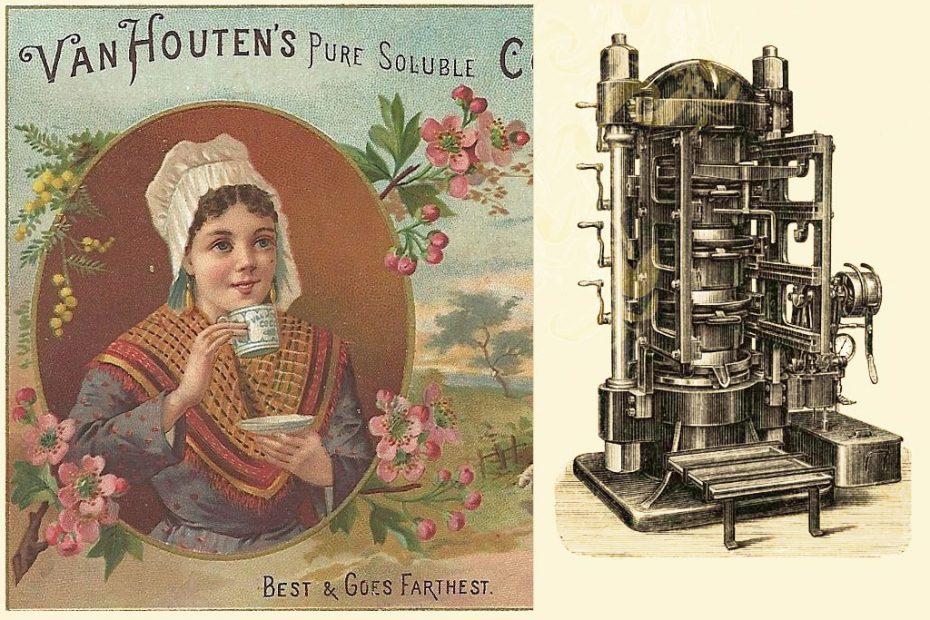 Van Houten's Cocoa Press Invention