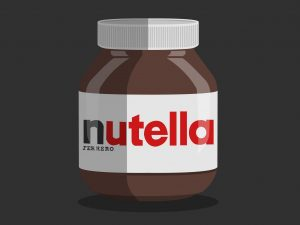 Jar of Nutella Art
