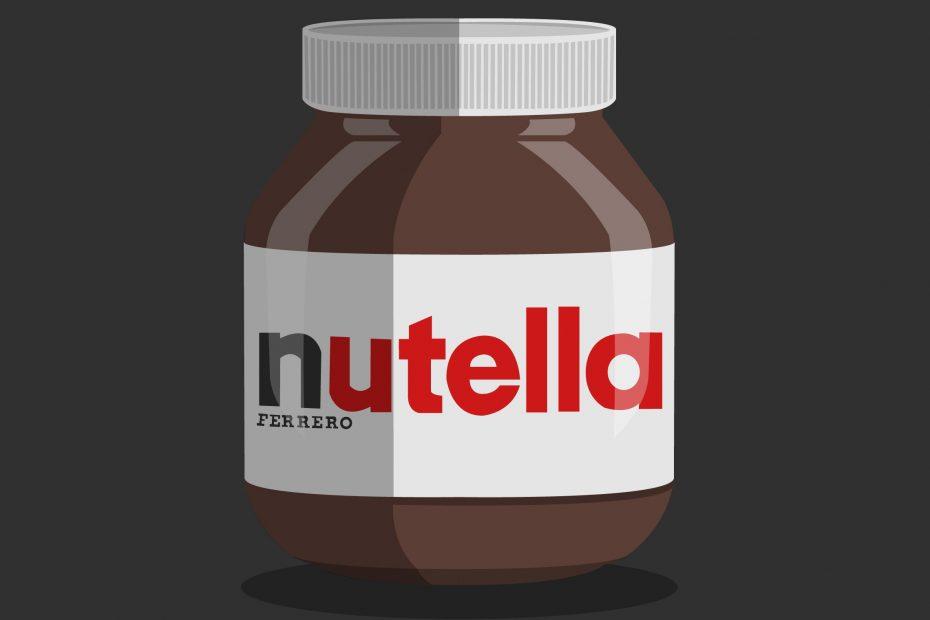 Jar of Nutella Art