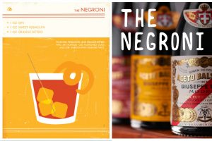 Negroni w Balsamic vinegar
