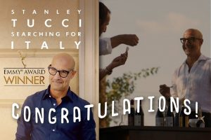 Stanley Tucci Searching for Italy Emmy